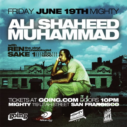Ali Shaheed Mighty SF 